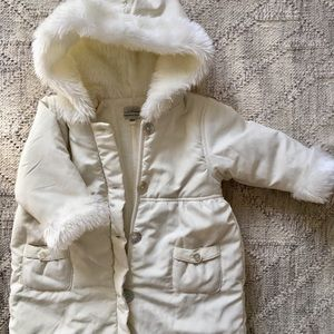 "12 Month Leveret ""Barn Baby"" Snowsuit"